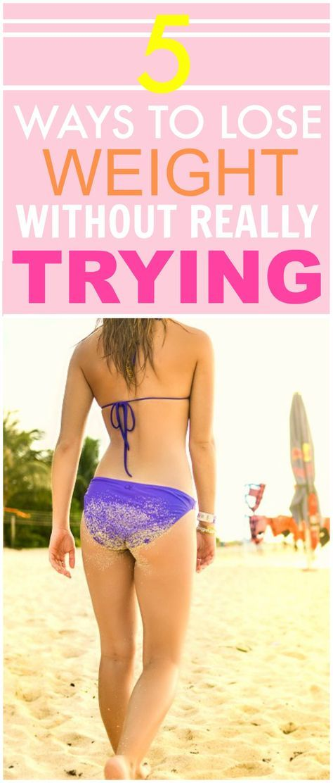 These 5 ways to lose weight without really trying are THE BEST! I'm so glad I found these AMAZING weight loss tips! Now I have some great ways to lose weight fast! Definitely great weight loss motivation!