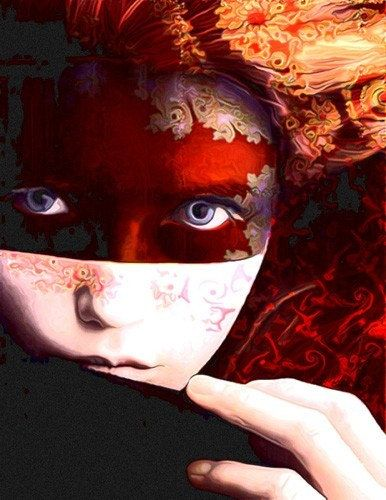 """A fellow digital collage / mixed media artist. This one is called """"Fall's Awakening"""" by Imagine Studio of Montreal, Quebec."""