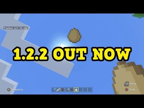 http://minecraftstream.com/minecraft-tutorials/minecraft-1-2-2-out-now-all-changesfeatures/ - Minecraft 1.2.2 OUT NOW - All Changes/Features  1.2.2 Is Out For Minecraft Xbox, Pocket Edition & Windows 10 – Previous Video(Fornite Stream): https://www.youtube.com/watch?v=zJDYlQxm1yo – Think you've missed a video? You can check my most recent uploads here: http://www.youtube.com/user/ibxtoycat/videos –...
