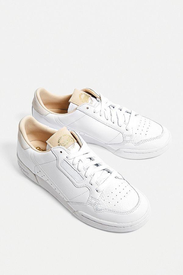 adidas Originals - Baskets Continental 80 blanches | Adidas ...