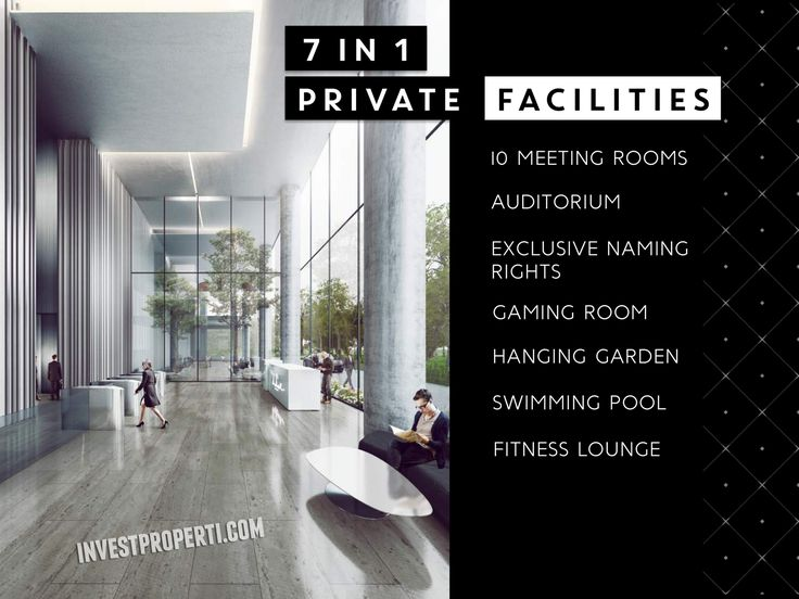 The Smith Alam Sutera SOHO 7 in 1 Facilities