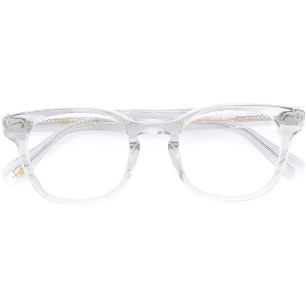 Moscot round frame glasses (€230) ❤ liked on Polyvore featuring accessories, eyewear, eyeglasses, white, moscot eyewear, unisex glasses, moscot, white eyeglasses and moscot glasses