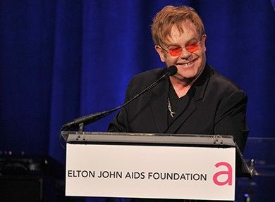 Elton John Harvard Award e1381378995897 Elton John Net Worth #EltonJohnNetWorth #EltonJohn #celebritypost