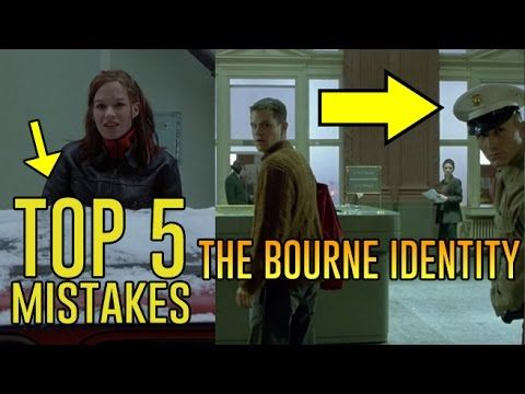 The Bourne Identity - Top 5 Movie Mistakes - YouTube