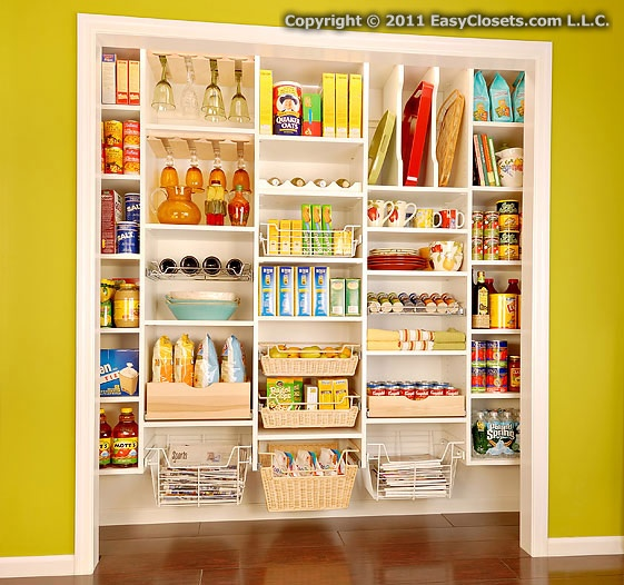 Organizing Pantry Shelves Realistically Organized Pantries: 7 Best Images About Pantry Closet On Pinterest