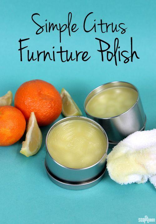 Simple Citrus Furniture Polish