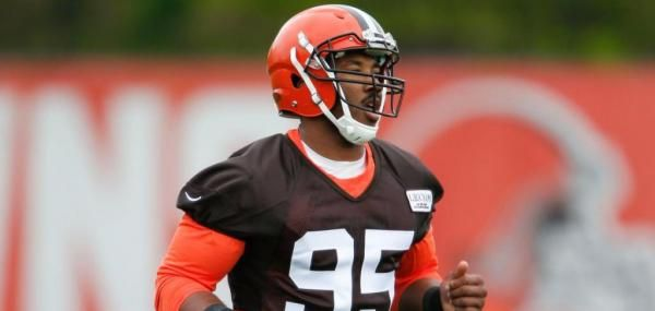 Cleveland Browns rookie defensive end Myles Garrett was unable to finish Wednesday's practice because of an ankle injury, and the team…