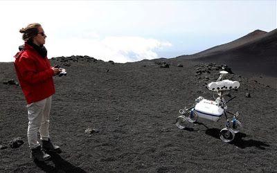 Σεληνιακά ρομπότ δοκιμάζονται στο ηφαίστειο Αίτνα..!