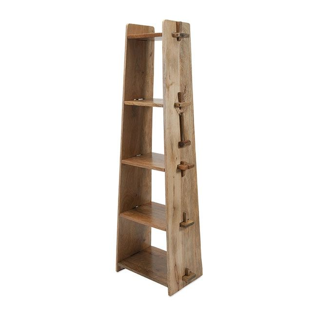 Rustic Hi-Rise Shelf | dotandbo.com