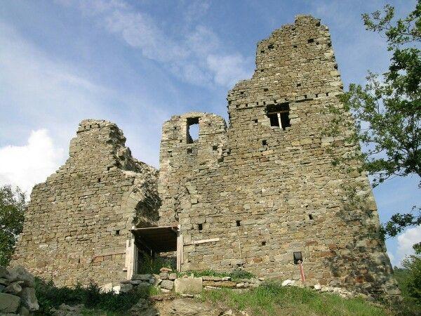 La Rocca Cerbaia prima della ristrutturazione