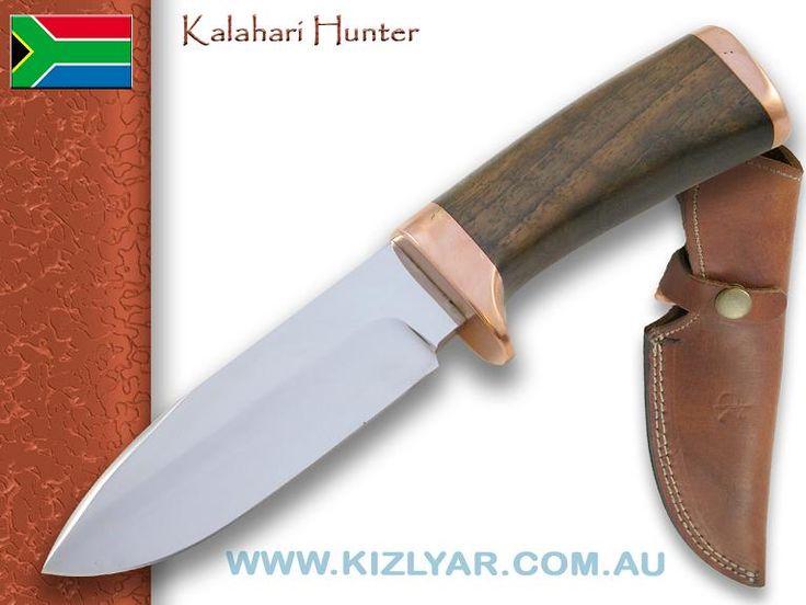 Kappetijn Kalahari Hunter - 440C steel  (Walnut)