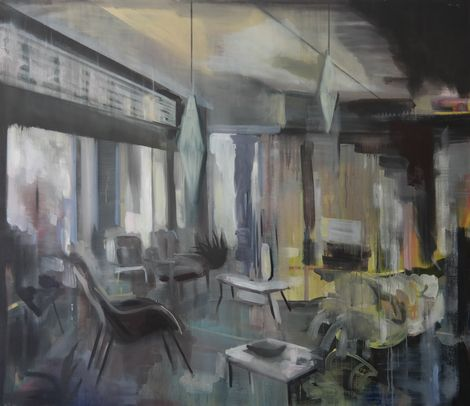 Kate Gottgens, Interior, Yesterday Now on ArtStack #kate-gottgens #art