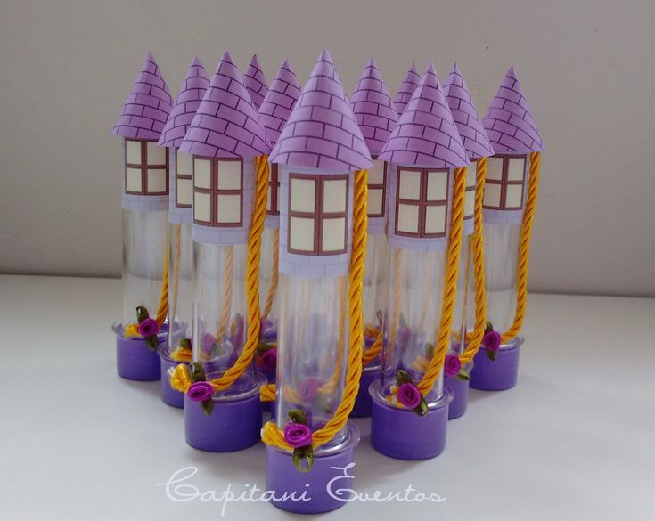Lindas dicas e ideias para você se inspirar na hora de fazer a decoração da festa infantil com tema Rapunzel, uma ideia mais linda que a outra!