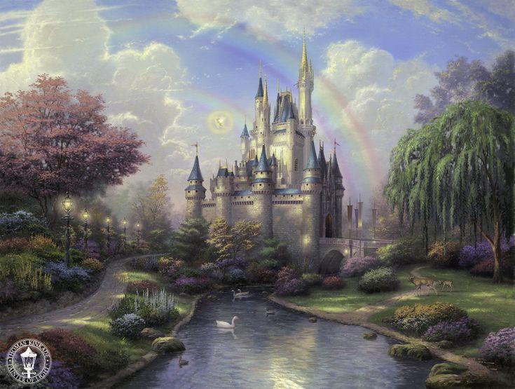 Thomas Kinkade Paintings Religious | Painter Thomas Kinkade Dies at Age 54 | The Disney Blog