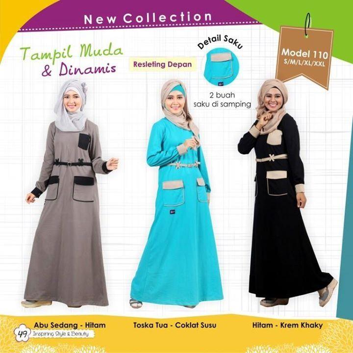 Busana Muslim Mutif 110 Harga 255.000 Open Reseller & Agen Disc 20% - 35%