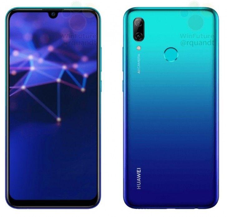 Huawei P Smart 2019 Leaks In Full Press Renders In Tow Phone Samsung Galaxy Samsung