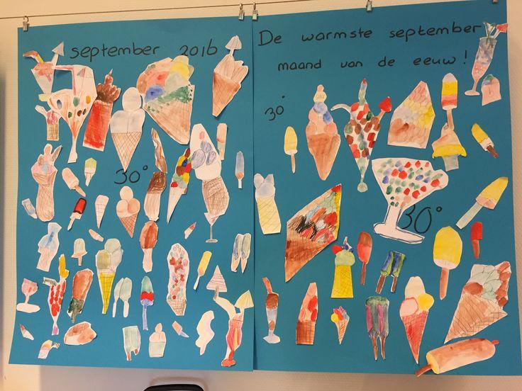 Artclass children, icecream