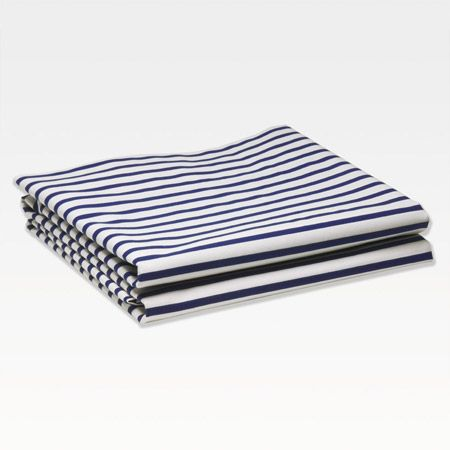 Sailor Striped Marine Bed Sheets | Unison