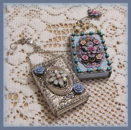 Artful Interludes: Jeweled Marie Matchbox