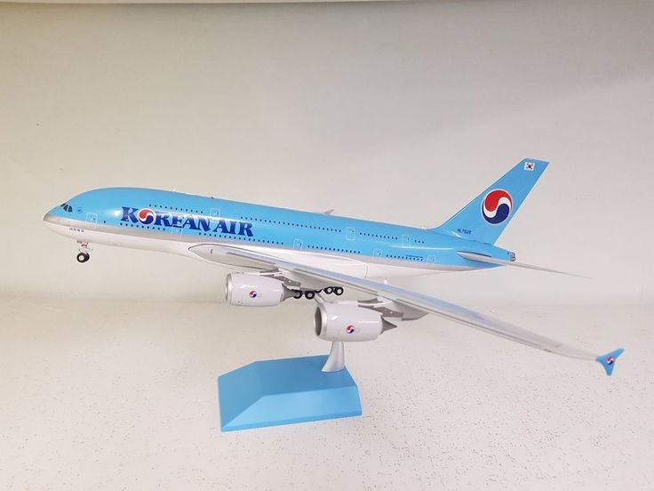 JC Wings 1:200 Airbus A380-800 Korean Air HL7628' Ref: BBOX2541 with a stand' #JCWings200