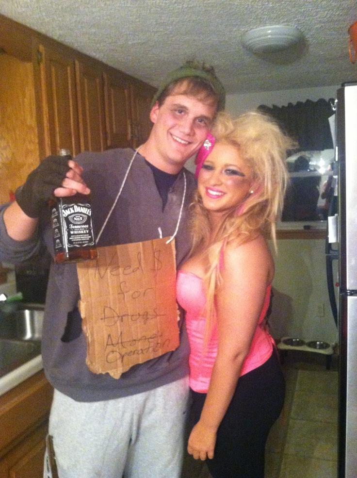 Hot Mess Barbie Homeless Ken  Cute Boyfriend Girlfriend -7155