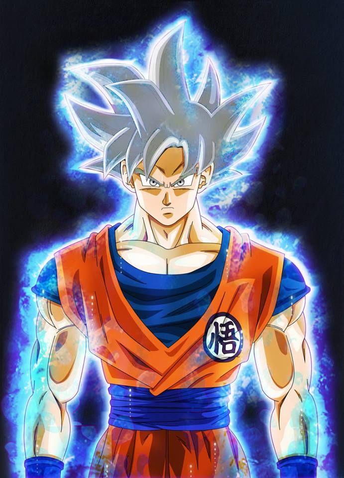 Goku Ultra Instinto Perfecto Goku Dragon Ball Dragon Ball Z Y Goku