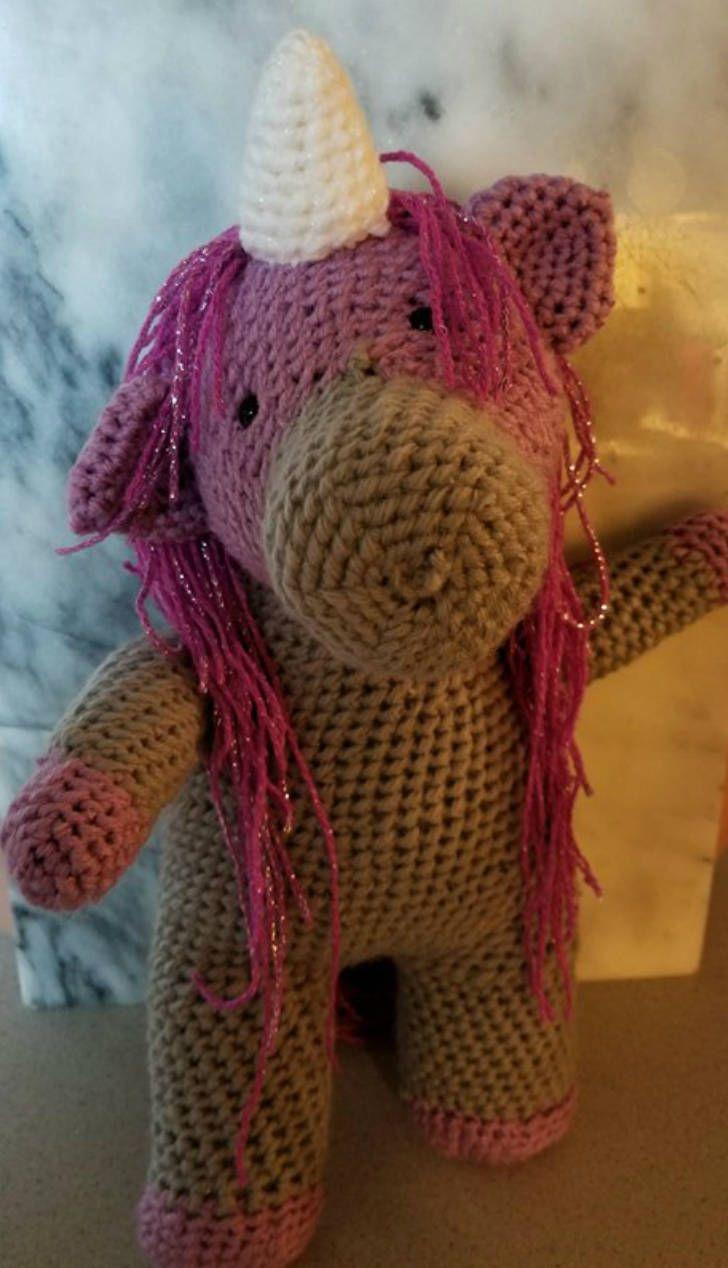 Unicorn Stuffie, Unicorn Plush, Stuffed Unicorn, Unicorn Toy, Magical Unicorn, Unicorn Plushie, Plush Unicorn, Crocheted Unicorn, Unicorn by MECraftyCreations on Etsy