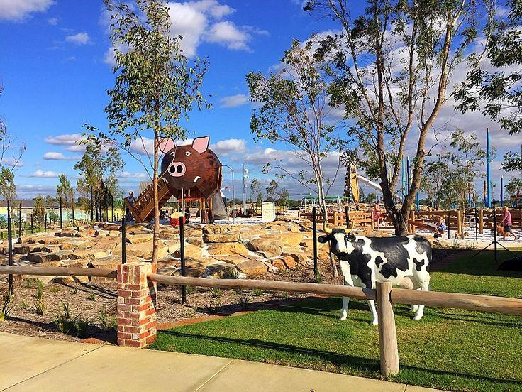 Best playgrounds in Australia Melbourne Sydney Brisbane Adelaide Perth Canberra & regional. Judged by Australian Institute of Landscape Architects 2016