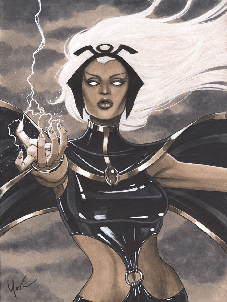 Storm Portrait 2013 NYCC Charity Auction by *Protokitty on deviantART