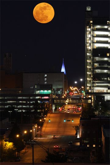 Downtown Tulsa, Oklahoma.