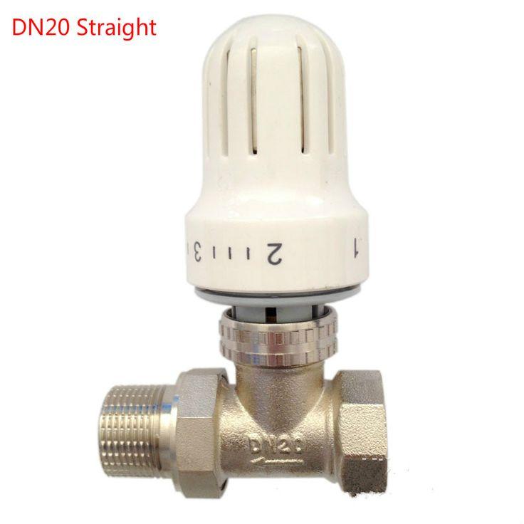 DN15 DN20 DN25 thermostatic radiator valve  Floor heating system Thermostatic Radiator Valve #Affiliate
