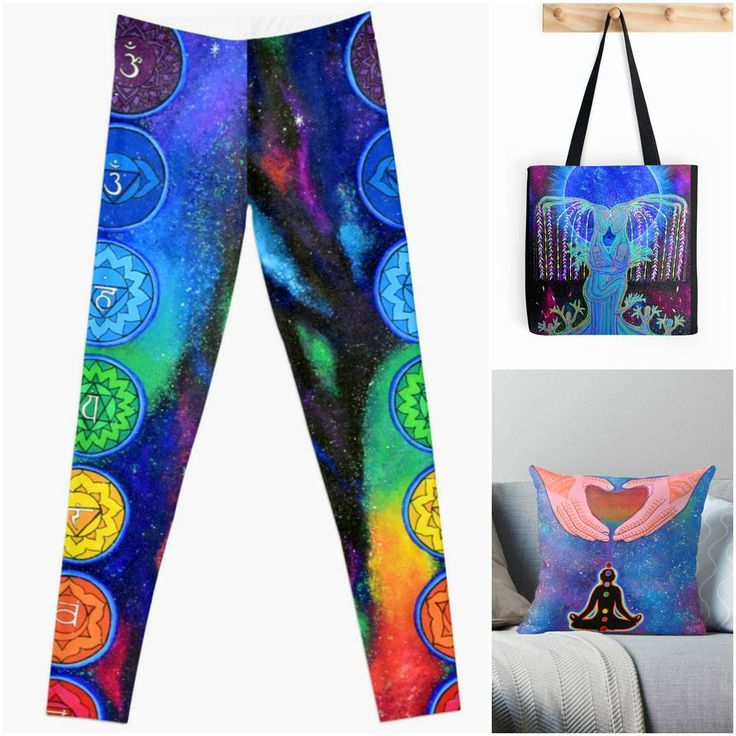 """42 Likes, 2 Comments - Kamakshi Dasi (@kamakshi.dasi) on Instagram: """"Yaaayyy! I'm so excited for these Chakra leggings. 😄😄 Check out some other cool products I have…"""""""
