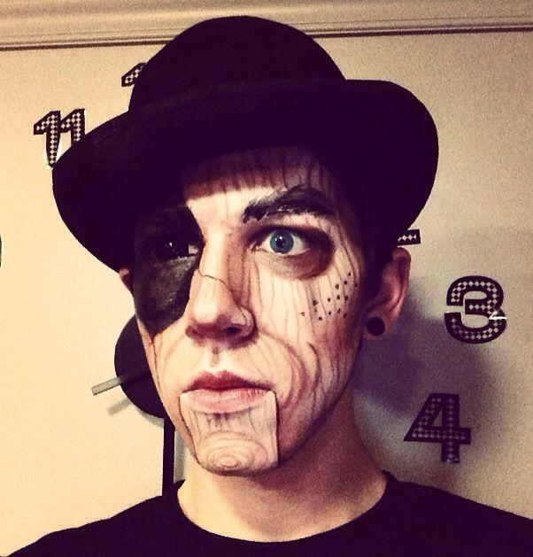 about Puppet Makeup on Pinterest : Marionette Costume, Jigsaw Makeup ...