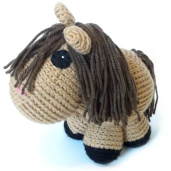 Amigurumi Horse Head : Best 25+ Crochet horse ideas on Pinterest