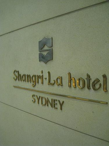 The best hotel ever...   Shangri La Sydney