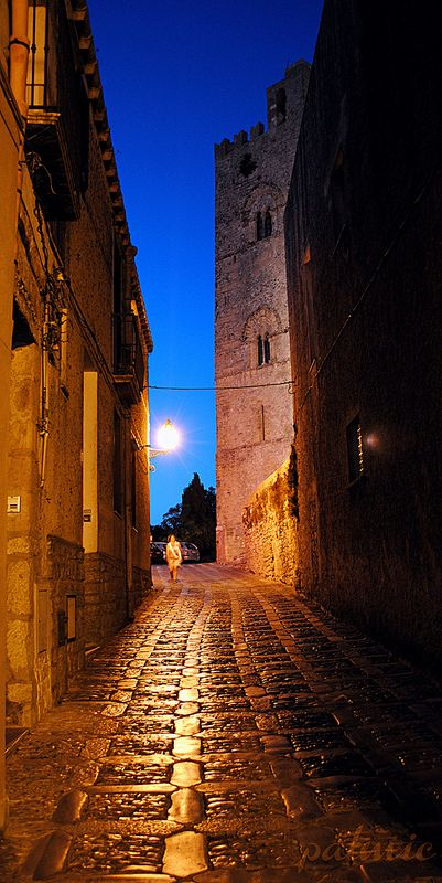 Erice Sicilia, ITALY - the most beautiful island I have been to. X