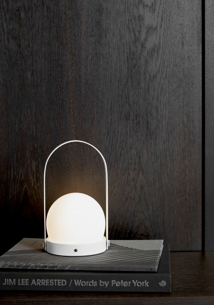 MENU | Carrie LED Lamp in white, by Norm Architects