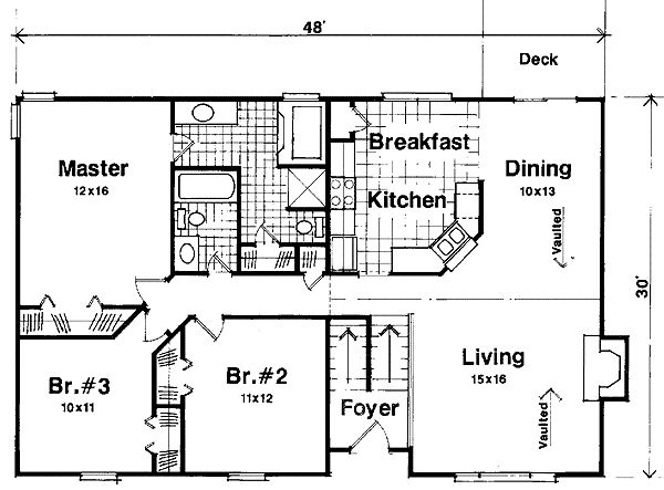 Split foyer floor plans google search split level for House plans with foyer entrance