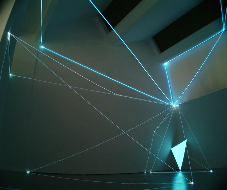 Light defines form and shape and creates space. Italian visual artist Carlo Bernardini uses optic fibers to create spatial drawings and light up the darkness. See more after the jump via Not.cot Se...