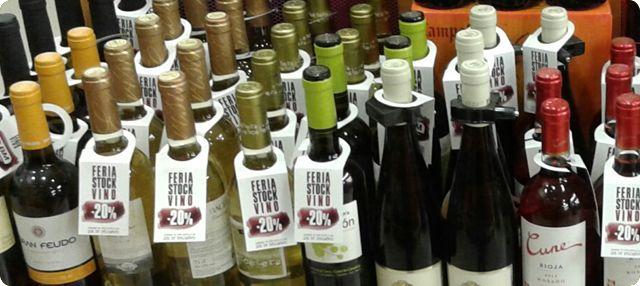 Feria del Stock del vino en BM Supermercados