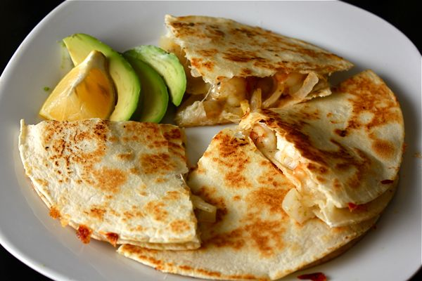 Tropical Shrimp Quesadillas by wittyinthecity #Shrimp #Quesadillas # ...
