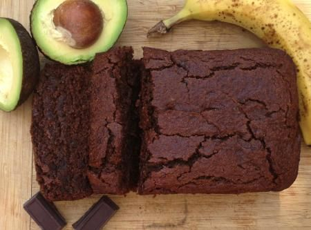 Gluten-Free Vegan Chocolate Avocado Banana Bread Recipe