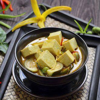 Recette Veggie Curry de tofu