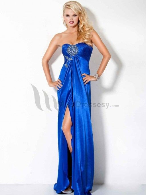 evening dress evening dress 2014 long blue