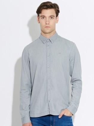 Waven - Mens Mirmir shirt Ash grey