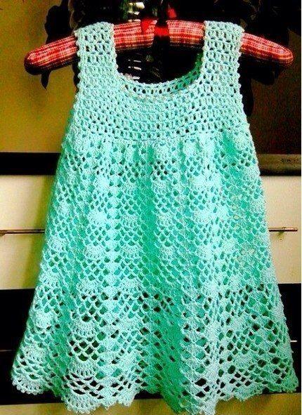 Mis Pasatiempos Amo el Crochet: 50 Vestidos de bebés y niñas en crochet