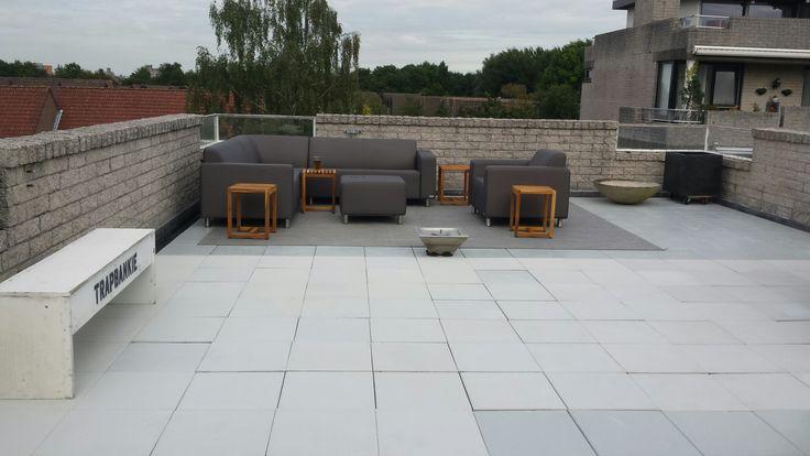 Roof Garden / dakterras All weather loungeset met buiten tapijten