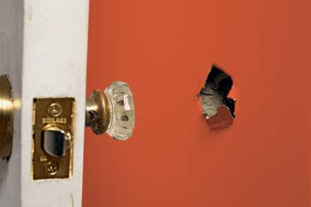 Got holes in your drywall? Before you call in for help, take a look at this easy tutorial! We're going to show you how you can repair your drywall yourself easily and cheaply!