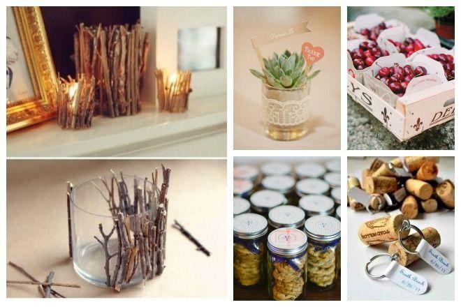 Envie de faire vos cadeaux d'invités vous-même? Voici de jolies idées.  www.lauradovaweddings.com