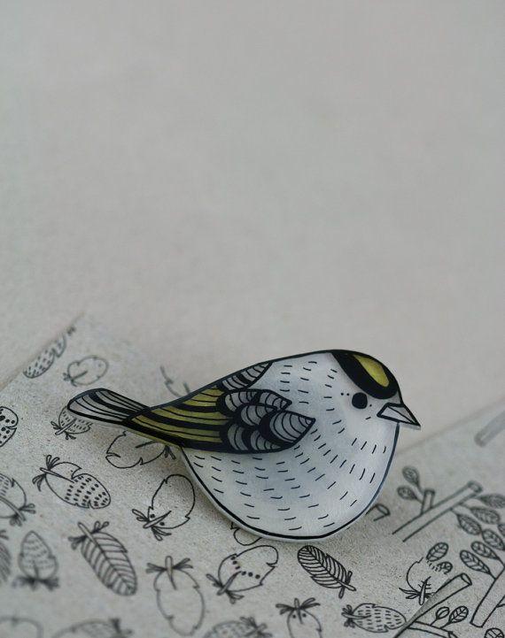 bird Bijou Plastique fou dingue DIY